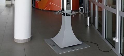 Bezpłatna stacja ładowania smartfonów w G2A Arena