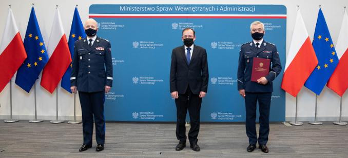 Nowy komendant wojewódzki Policji w Rzeszowie