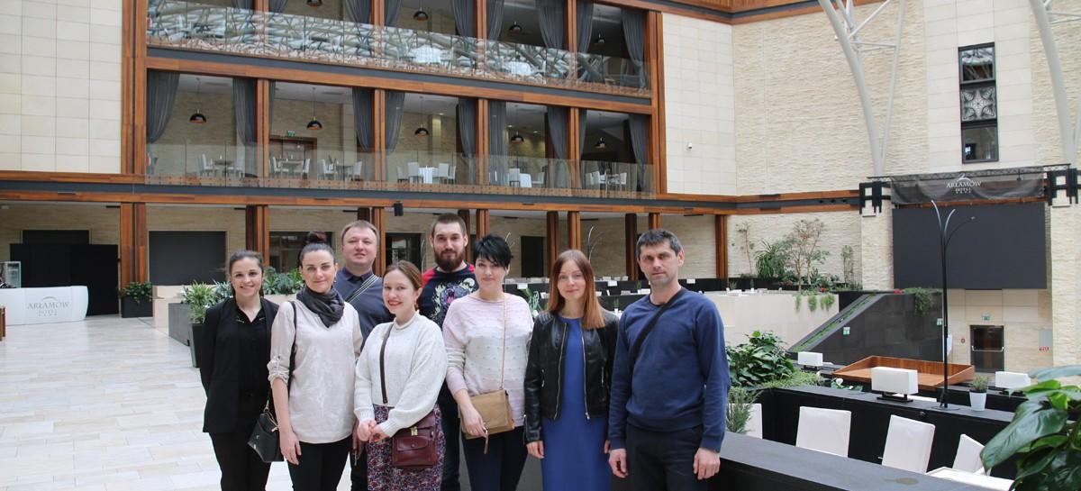 Dziennikarze z Ukrainy zwiedzali Podkarpacie (FILM, ZDJĘCIA)