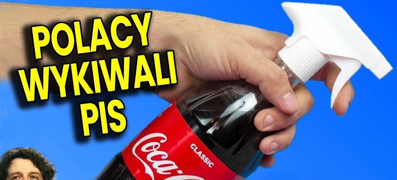 Polacy wykiwali PIS! Coca Cola jako Odrdzewiacz! Syrop Hoop Cola, bo podatek cukrowy (VIDEO)