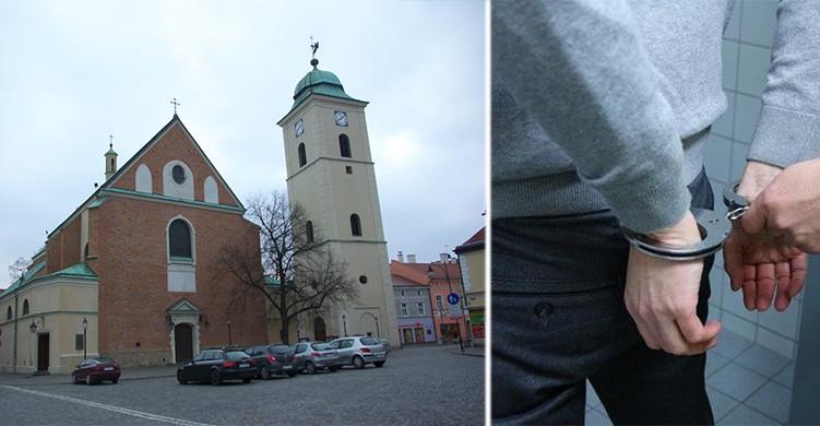 RZESZÓW. Pijany 38-latek ukradł lichtarz z kościoła farnego