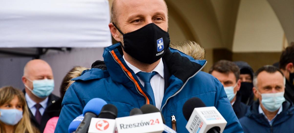 Konrad Fijołek zgłosił kandydaturę i rozpoczął kampanię wizerunkową (VIDEO, ZDJĘCIA)