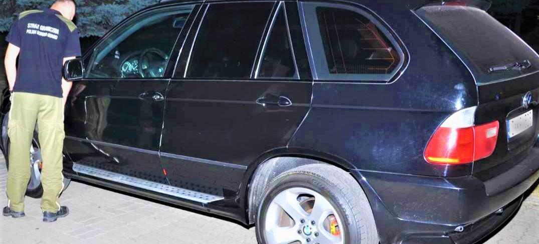 Straż Graniczna zatrzymała skradzione pojazdy