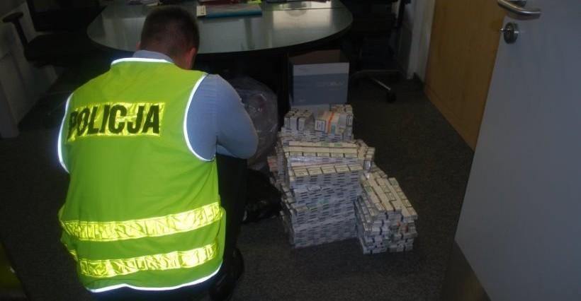 Mieszkaniec Rzeszowa zatrzymany za posiadanie nielegalnych papierosów