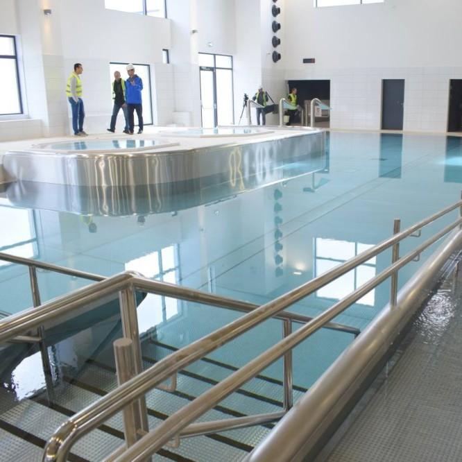 Tak będą funkcjonowały sanockie baseny. Nowoczesne technologie (FILM, ZDJĘCIA)