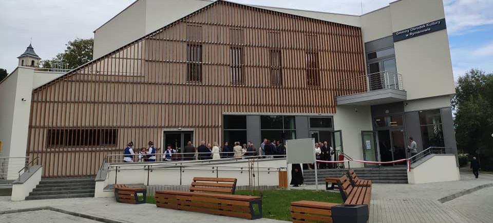 Uroczyste otwarcie nowego budynku Domu Kultury w Rymanowie (ZDJĘCIA)