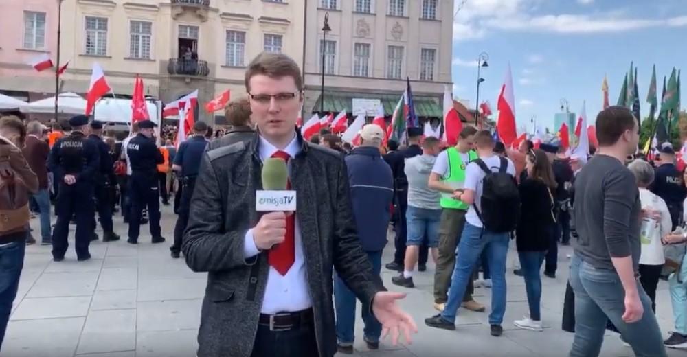 Marsz Suwerenności w Warszawie – Polska w Europie ojczyzn (transmisja VIDEO na żywo)