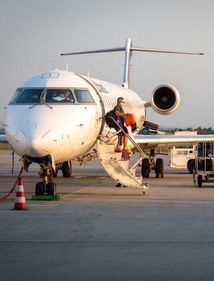 JASIONKA. Pierwsze lądowanie Lufthansy po pandemicznej przerwie! (ZDJĘCIA)