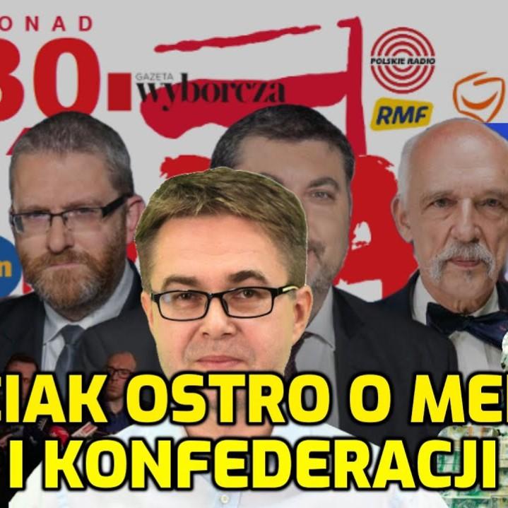 Maciej Maciak ostro o mediach i Konfederacji  w rozmowie  z Mateuszem Jarosiewiczem (VIDEO)
