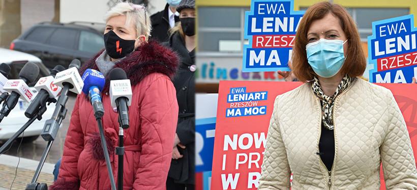 Partia Razem chce przeprosin od Ewy Leniart: Pokazała pani antykobiecą twarz