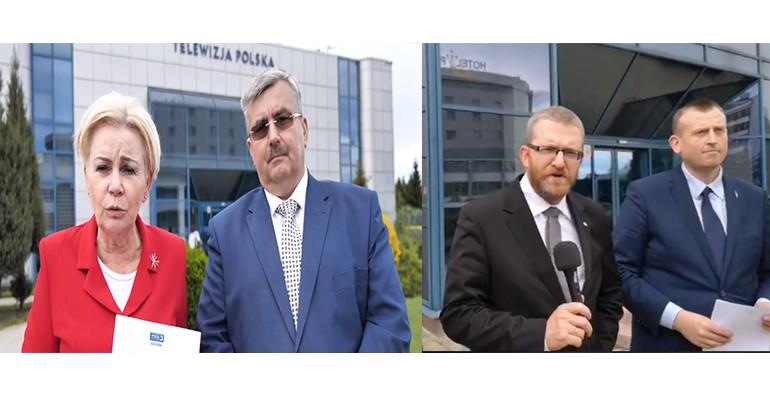 """TVP Rzeszów odwołała debaty kandydatów do PE – """"To skandal!"""" (WIDEO)"""