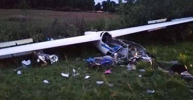 Wypadek szybowca! 18-letni pilot w ciężkim stanie (ZDJĘCIA)