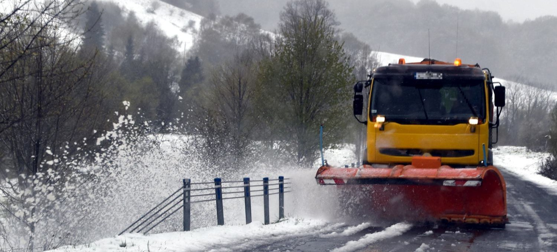 Majowe opady śniegu w Bieszczadach! (FILM, FOTO)