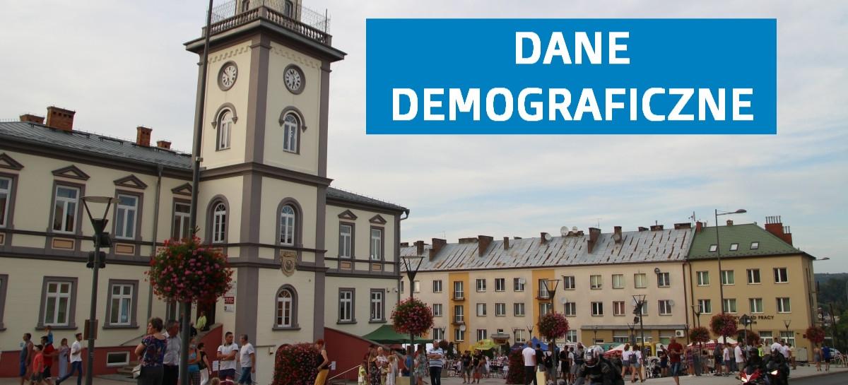 Dane demograficzne z gminy Brzozów