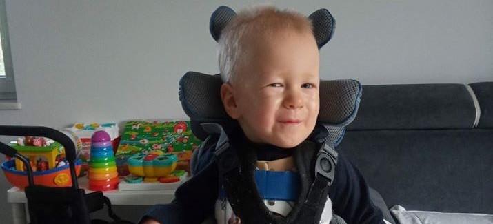 2-letni Julek z Łańcuta walczy z SMA. Potrzebna wasza pomoc!