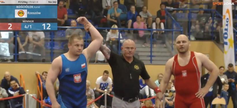 Rzeszowianin został mistrzem Polski w zapasach! (WIDEO)