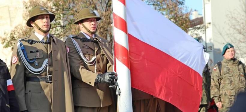 Święto Niepodległości w Rzeszowie. Apel Pamięci i odsłonięcie pomnika marszałka Piłsudskiego