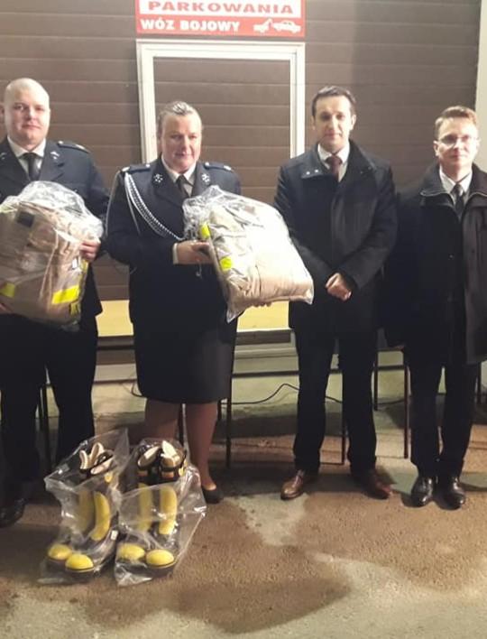 BRZOZÓW: Strażacy-ochotnicy otrzymali nowy sprzęt. Dla ratowania innych!