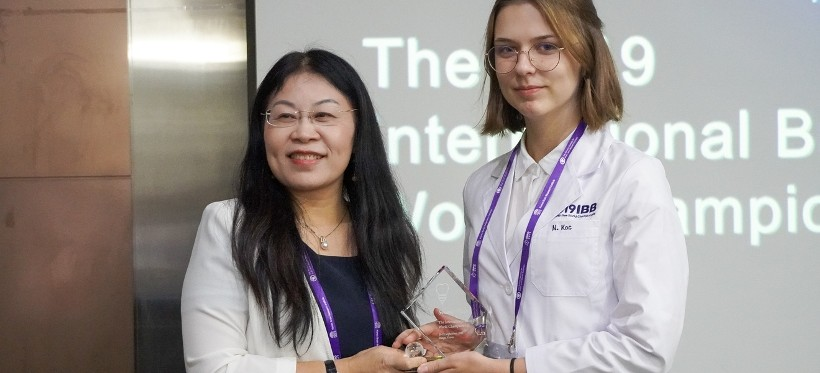 Absolwentka II LO w Rzeszowie z nagrodą w międzynarodowym konkursie neurobiologicznym!