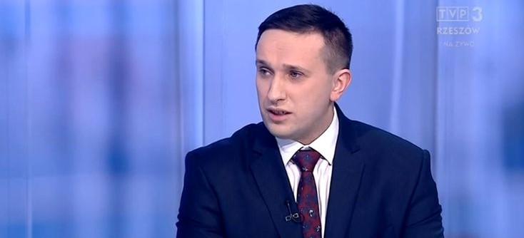 Burmistrz Szymon Stapiński w Aktualnościach o sytuacji gminy po restrukturyzacji w Banku PBS (VIDEO)