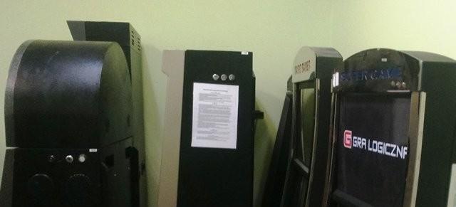 Zarekwirowano nielegalne urządzenia do gier hazardowych