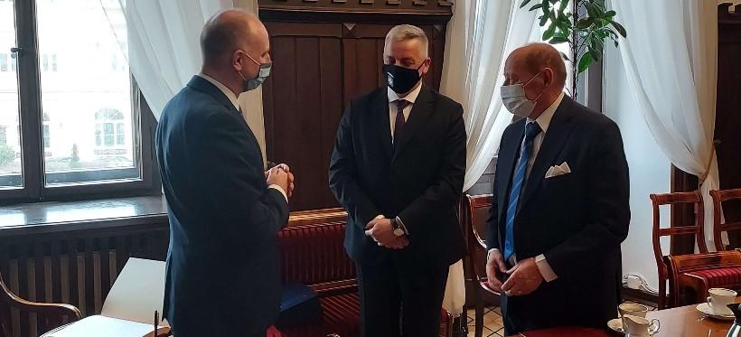 Prezydent Duda podziękował Tadeuszowi Ferencowi! (FOTO)
