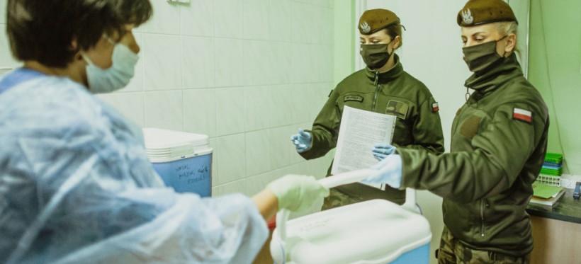 Podkarpaccy terytorialsi wspierają Wojewódzką Stację Sanitarno-Epidemiologiczną w Rzeszowie