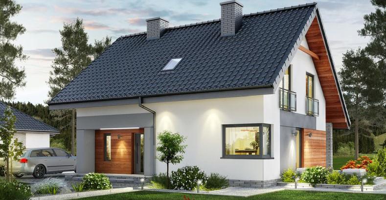 Najlepsze projekty domów na wąską działkę