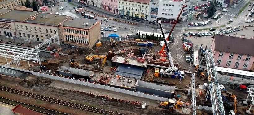 Remont na stacji Rzeszów Główny. 19 listopada zostanie otwarty peron nr 1 (FOTO)