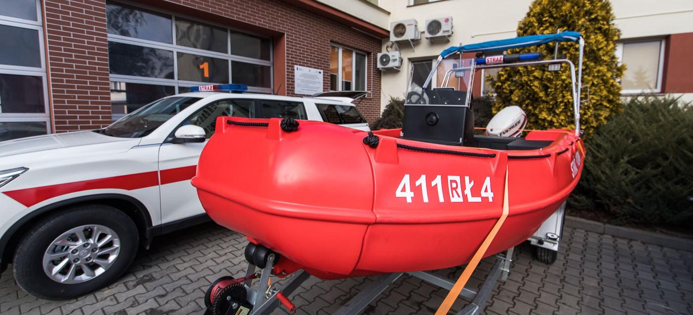 Brzozów ma nową łódź ratowniczą! (ZDJĘCIA)