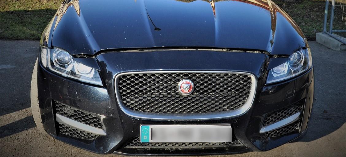 REGION: Kradziony, luksusowy jaguar, poszukiwany w całej Europie (FOTO)