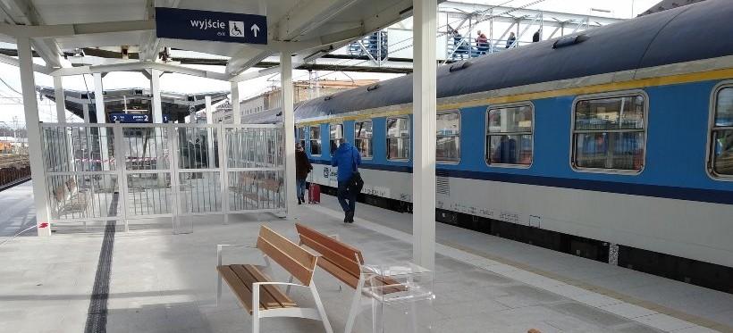 Dwa nowe perony na stacji Rzeszów Główny! (FOTO, WIDEO)