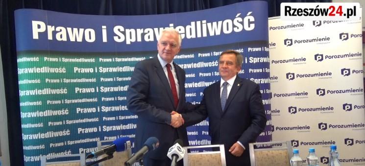 Jarosław Gowin udzielił poparcia dla działań posła Wojciecha Buczaka (FILM)