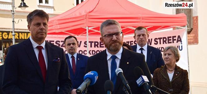 Europoseł Piotrowski: Grzegorz Braun gwarancją dobrego rozwoju Rzeszowa (VIDEO, ZDJĘCIA)