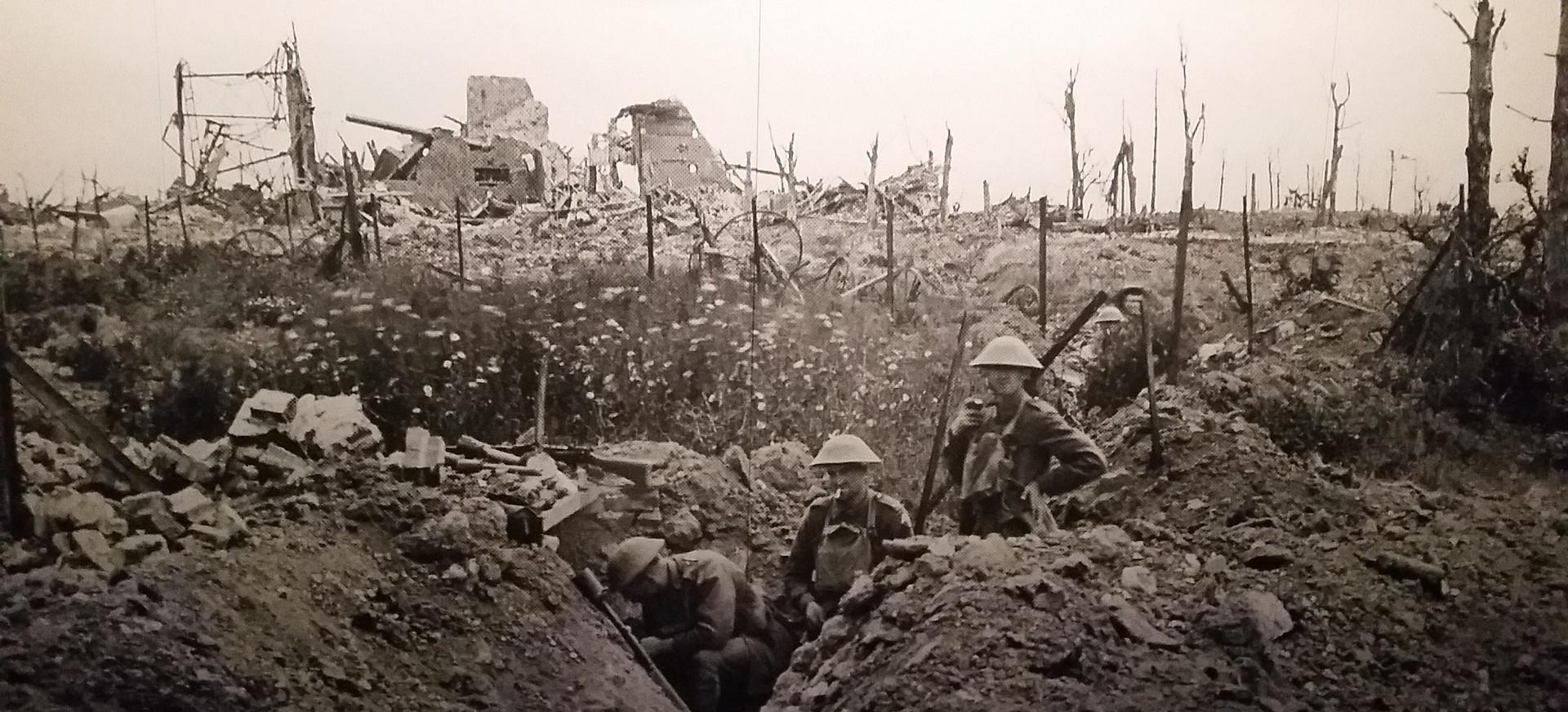 GMINA BESKO: Efektowna rekonstrukcja bitwy Mymoń 1915