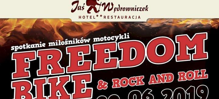 Jaś Wędrowniczek zaprasza na FREEDOM, BIKE & ROCK AND ROLL