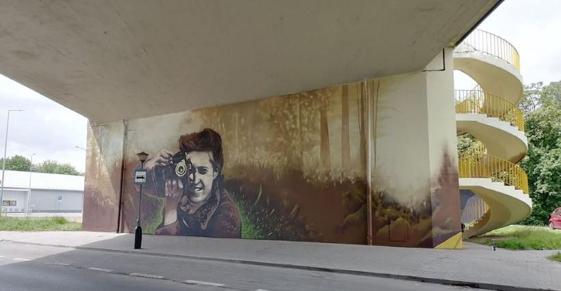 Nowy mural w Rzeszowie! Powstał na Wiadukcie Śląskim (FOTO)