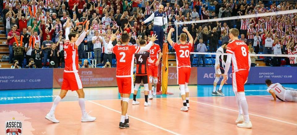 Asseco Resovia w półfinale KMŚ! Rzeszowianie rozbili irański Khatam Ardakan 3:0