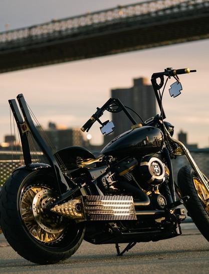 Motocykl customowy z Rzeszowa nagrodzony w USA! (ZDJĘCIA)