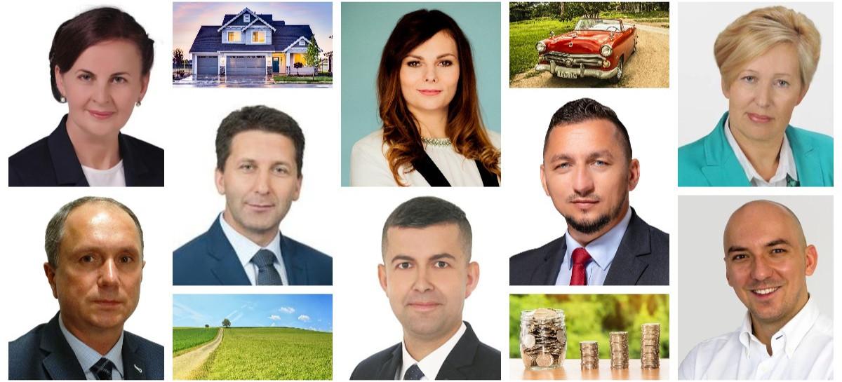 Domy, samochody, ale i kredyty. Majątki włodarzy gmin