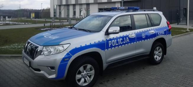 Nowy terenowy radiowóz dla policjantów z Baligrodu (FOTO)
