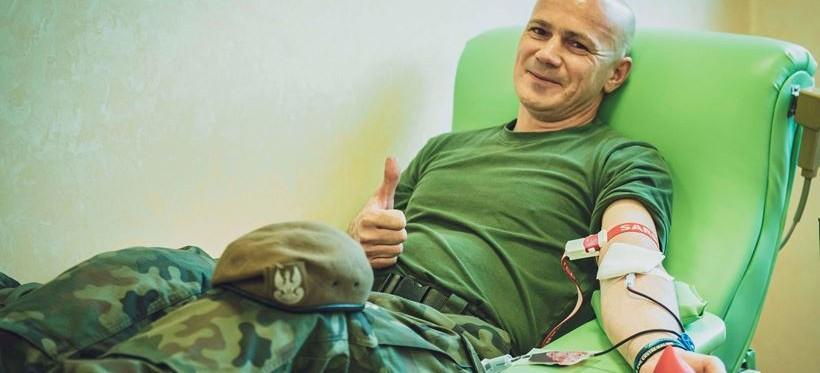 Podkarpaccy terytorialsi oddali prawie 30 litrów krwi! (FOTO)
