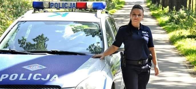 Potrącenie pieszego. Policjantka pierwsza ruszyła na pomoc