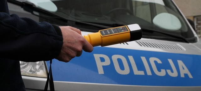 DYDNIA: Pijany kierowca wpadł, bo przekroczył prędkość