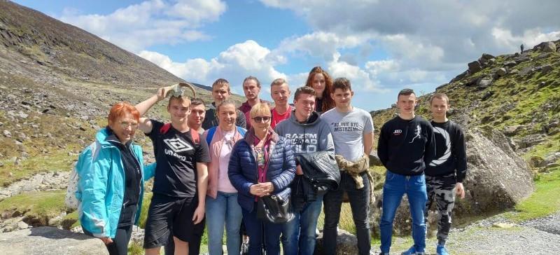 Uczniowie Zespołu Szkół nr 5 w Sanoku powrócili z praktyk w Irlandii!