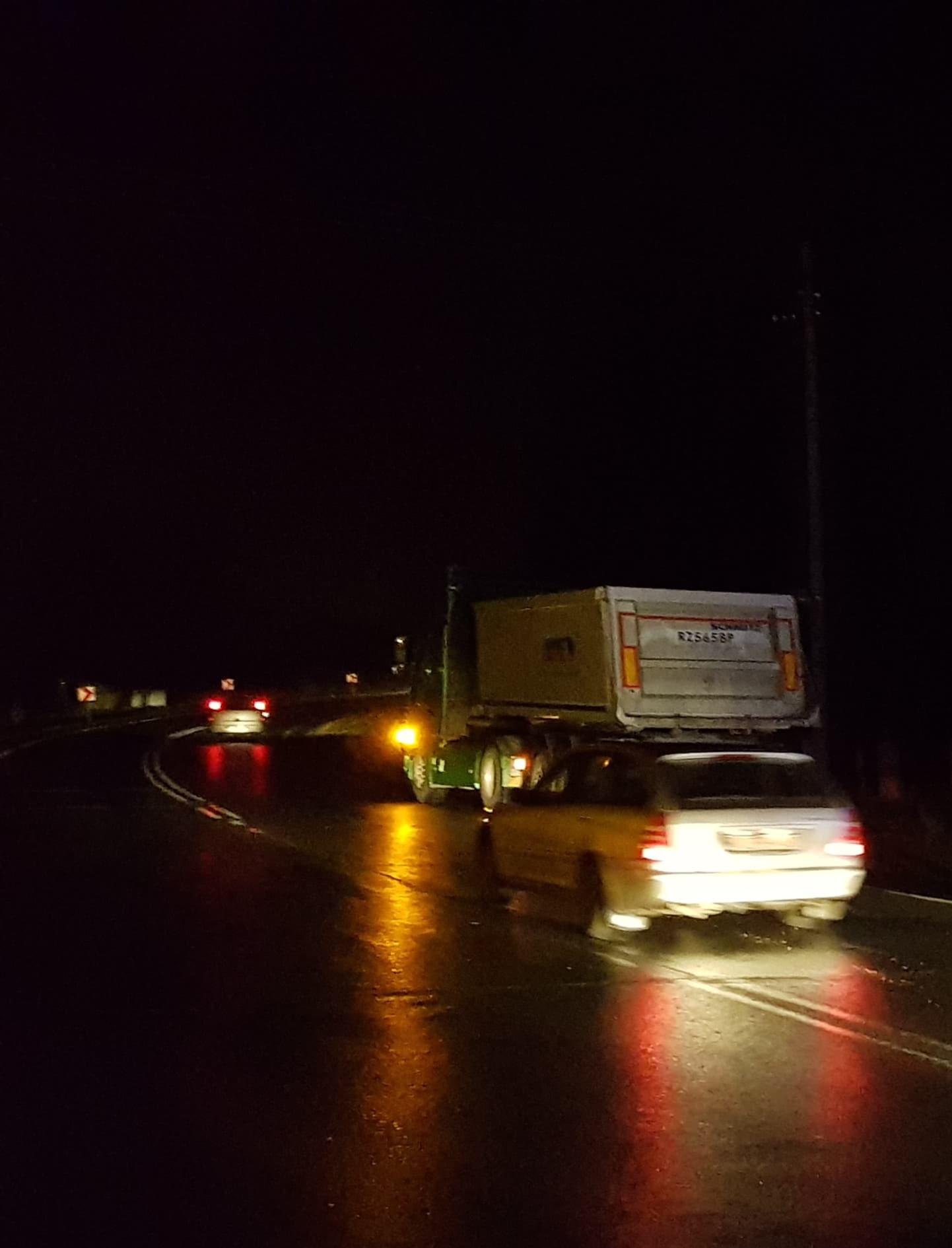 TRZEBOWNISKO: Stłuczka osobówki z samochodem ciężarowym (ZDJĘCIA)