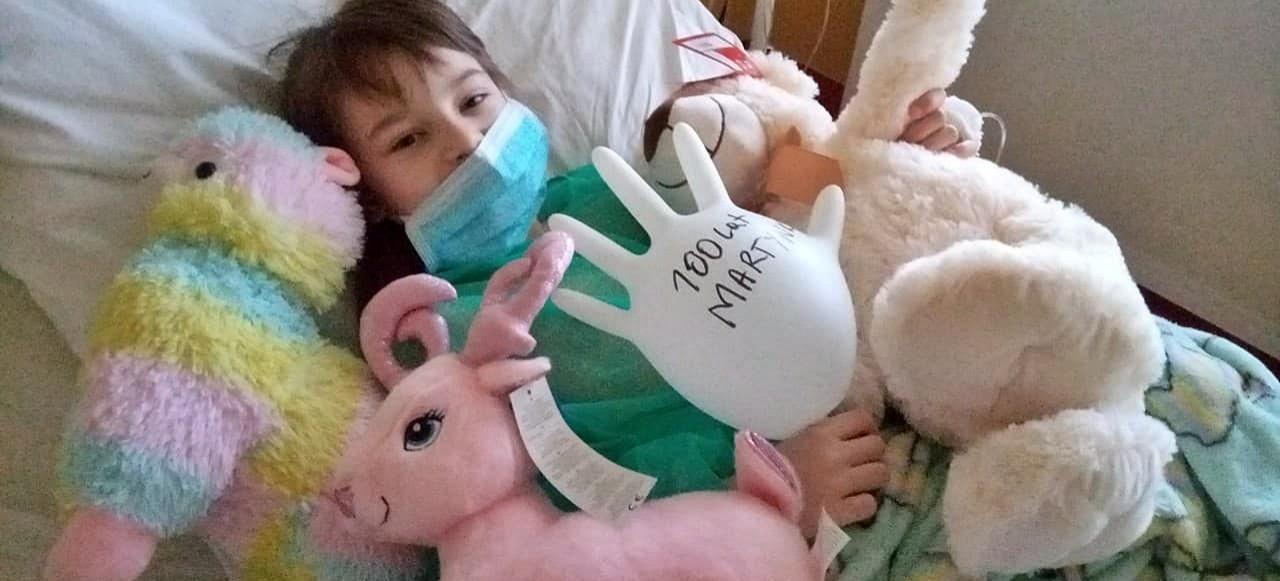 Pomóż małej mistrzyni w walce z białaczką!