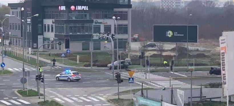 Wypadek na ul. Kopisto. Policja zatrzymała 29-latka uczestniczącego w zdarzeniu!