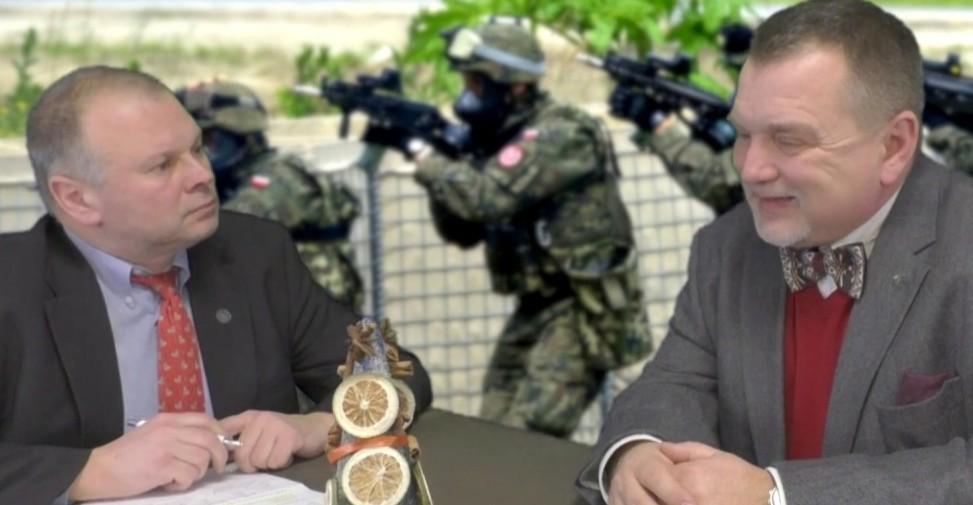"""Prof. Andrzej Zapałowski: """"Na czym polega patologia w Wojskach Obrony Terytorialnej w Polsce"""""""