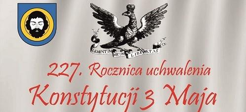 Obchody uchwalenia Konstytucji 3 maja w Brzozowie (PROGRAM)